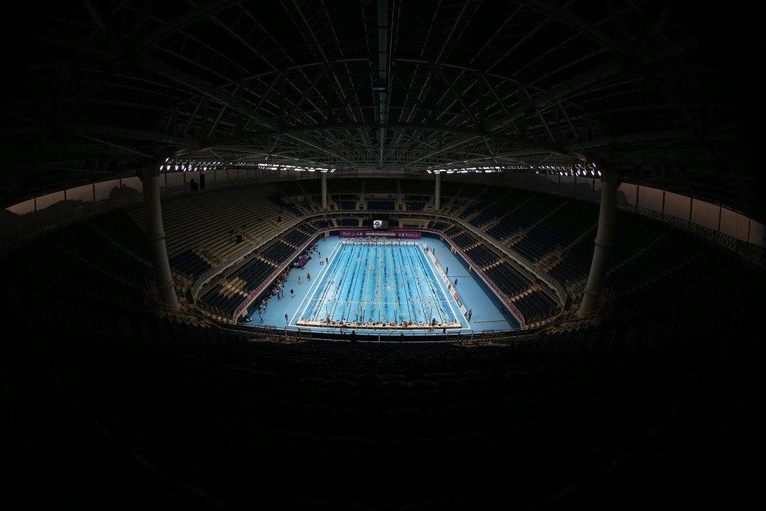 Fotograf Satiro Sodré im Rio Olympic Aquatic Centre (Bildergalerie)