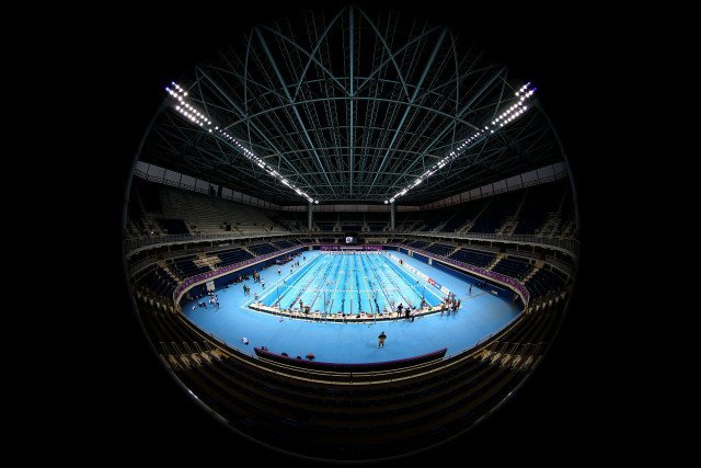 Trofeu Maria Lenk de Natacao, realizado no Centro Aquatico Olimpico. 13 de abril de 2016, Rio de Janeiro, RJ, Brasil. Foto: Satiro Sodré/ SSPress