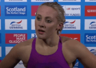 Post-200 IM race interview at 2016 British Olympic Trials