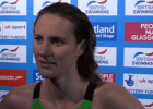 Post-400m free video at 2016 British Olympic Trials