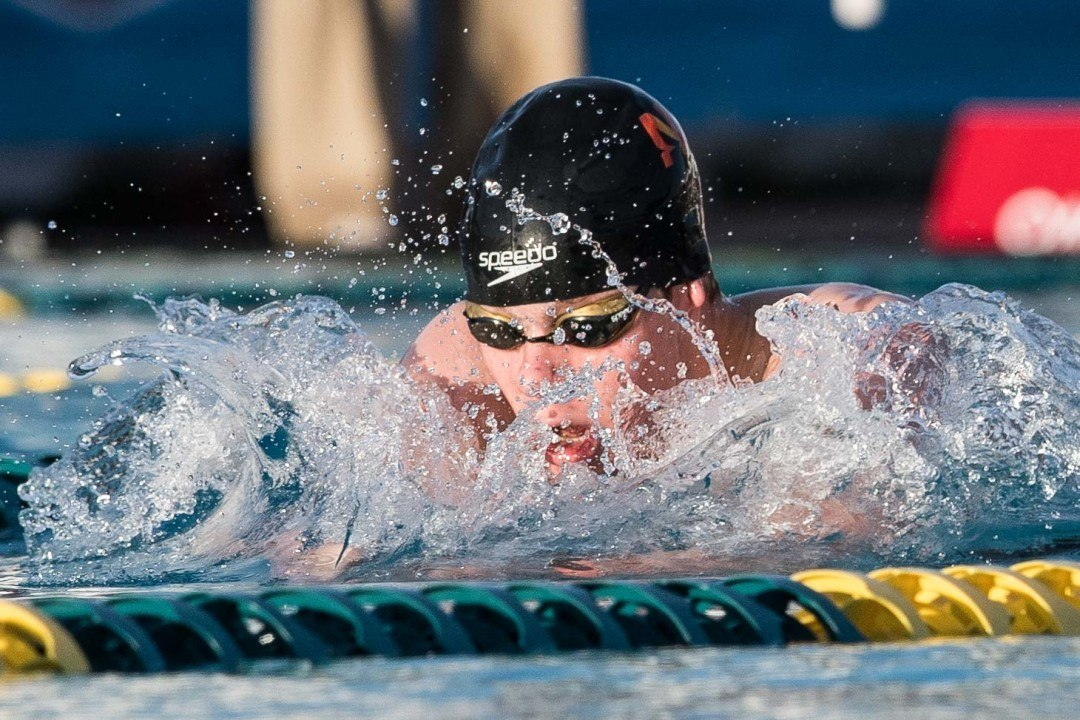Sean Grieshop Sets 400 IM Junior World Record in Trials Prelims