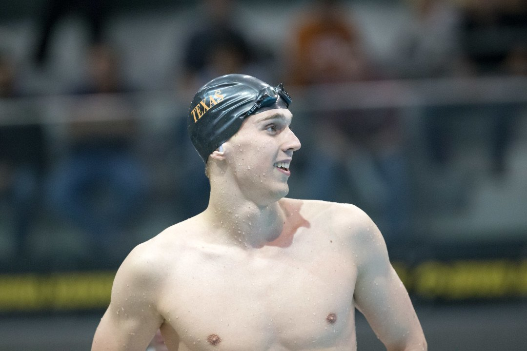 After Disappointing NCAAs, Clark Smith Bounces Back in 1st Swim in Mesa