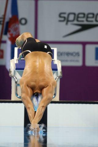 Thiago Pereira. Trofeu Maria Lenk de Natacao, realizado no Centro Aquatico Olimpico. 18 de abril de 2016, Rio de Janeiro, RJ, Brasil. Foto: Satiro Sodré/ SSPress