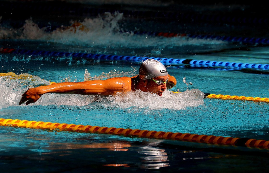 Le Clos Produces Solid 1:56.54 200 Fly In Stellenbosch