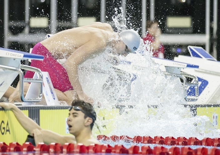 Canadian Men Post 3:34.55 Medley Relay, Just Miss Time From Pan Ams