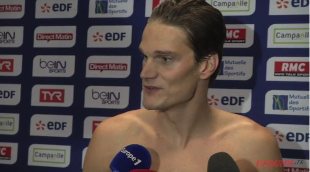 Yannick Agnel Given the Opportunity to Defend 200 Free Title in Rio