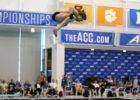 "The Notre Dame Diving Team Stars in: ""Coaching Mojo"""