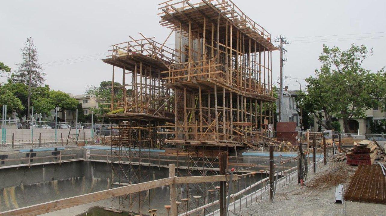 PHOTOS: Construction Rolls On at New Cal Aquatics Center