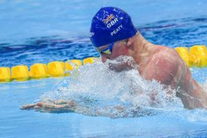 Adam Peaty swam the third fastest 100 breast of his career to win the Euro title.