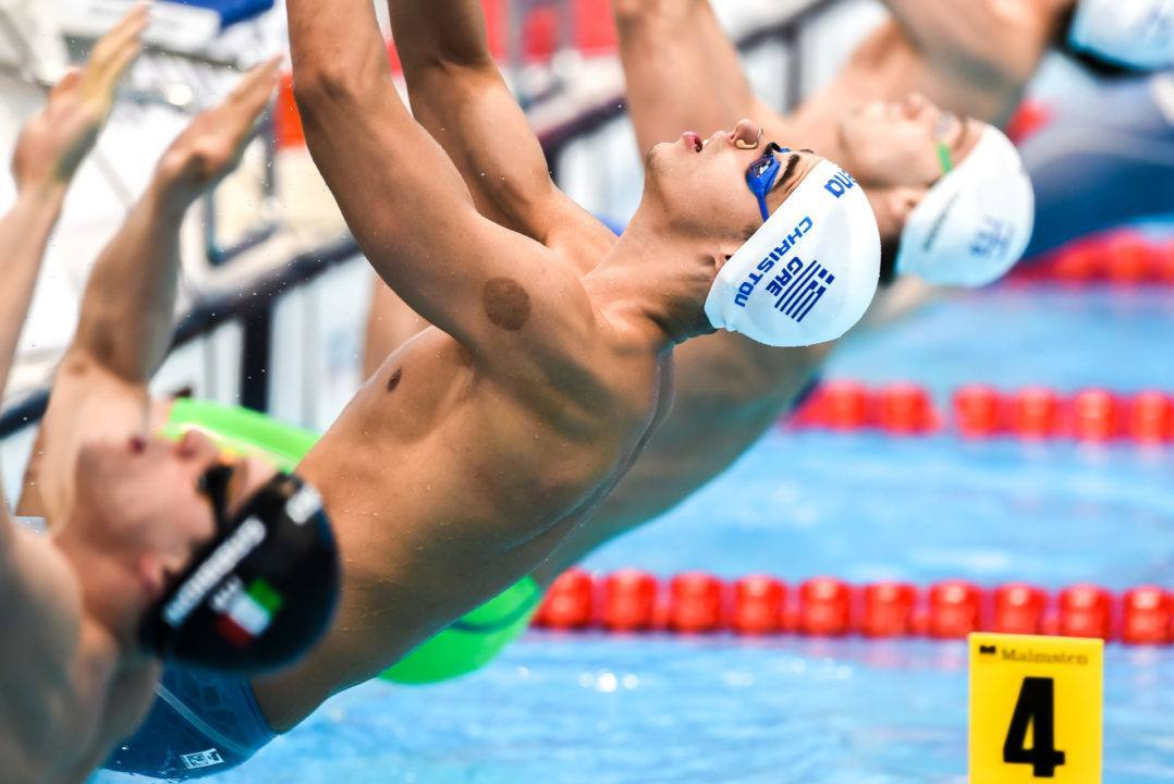 Rio Roll Call: Greece Snags Late Men's Medley Relay Berth At Euros