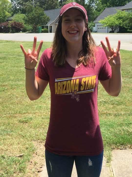 Olympic Trials Qualifier Erica Laning Chooses Arizona State for 2017