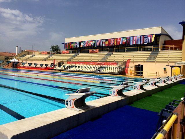 Pool Canet en Roussillon, France, Mare Nostrum Tour (photo: Georges Kiehl)