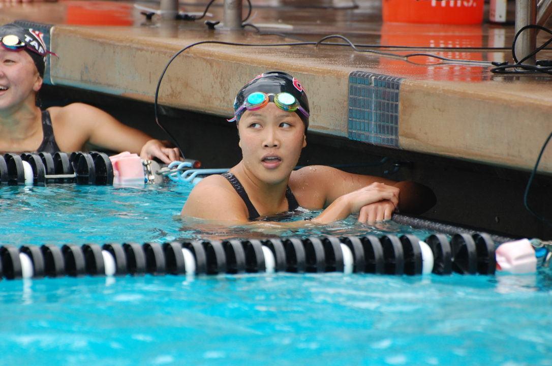Brea Aquatics' Kenisha Liu Rules Roseville Sectional Championships