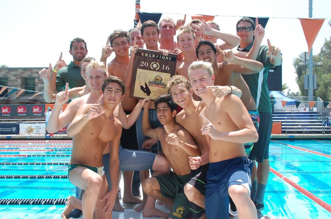 2016 CIF-SS D2 Finals: Damien's Depth Key in Winning Boys' Team Title