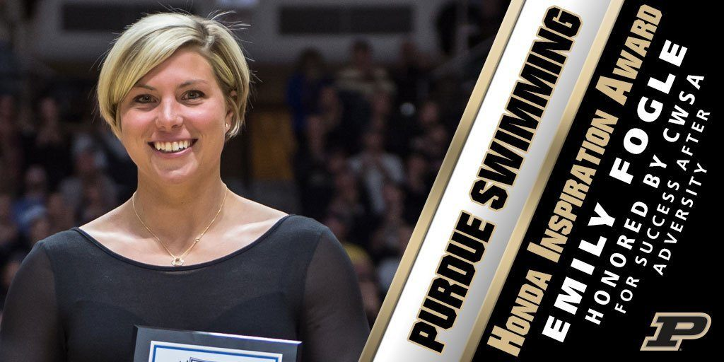 Purdue's Emily Fogle Wins National Inspiration Award From CWSA