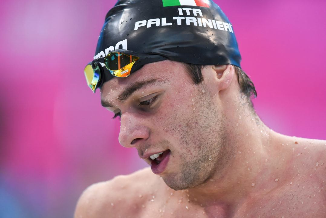 Paltrinieri Breaks Meet Record In 800 Free, Misses Lifetime Best