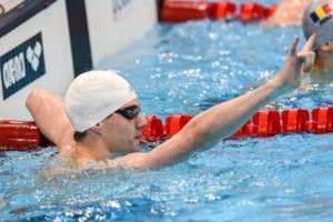 Louisville Downs ACC Record to Win 400 medley Relay Gold