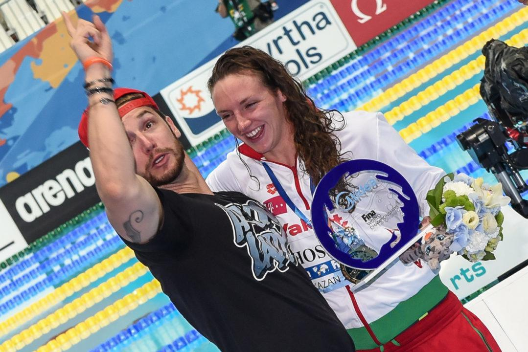 Katinka Hosszu: Nun bald mit eigenem Schwimmklub