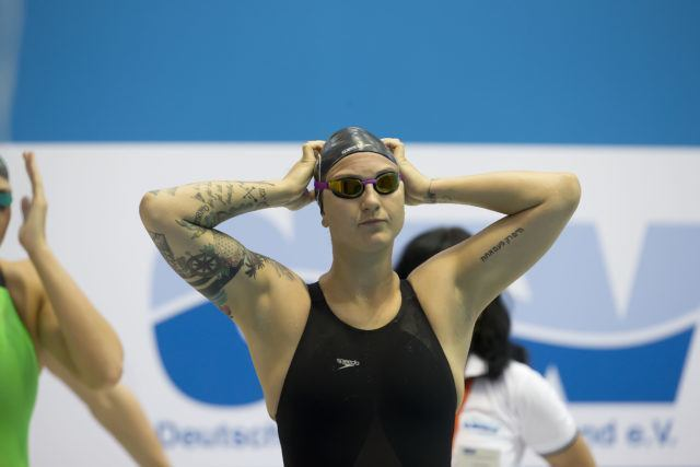 Florida Gator Theresa Michalak at 2016 German National Championships, photo by Mirko Seifert