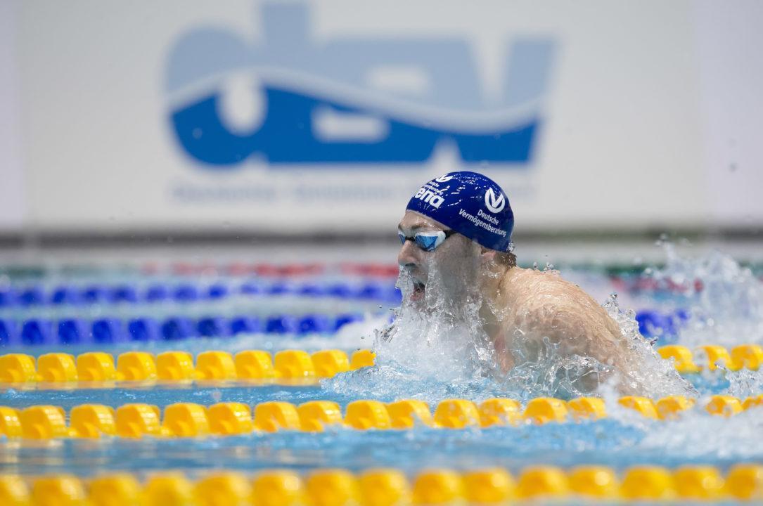 Marco Koch schwimmt Weltrekord über die 200 m Brust