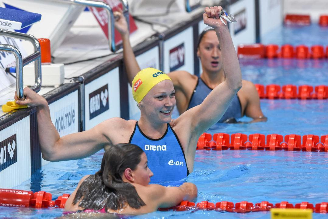 Swedish Nationals Day 2: Sjostrom Wins 100 Fly Gold in 55.9