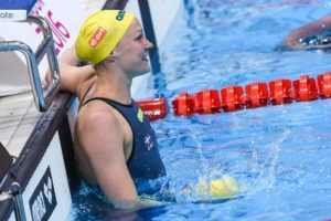 Sjostrom was victorious in the 50 fly as the only woman to break 25 seconds.
