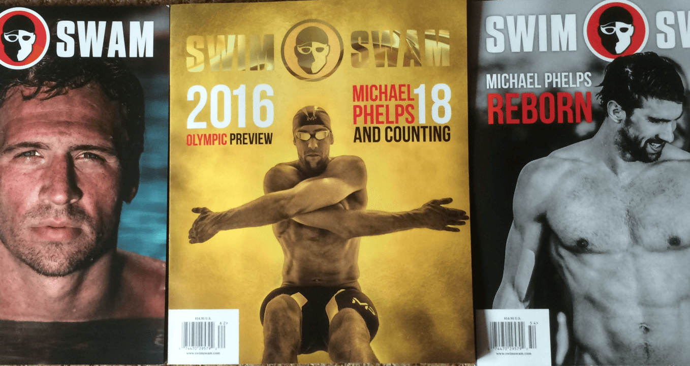 Michael Phelps Gold Cover Olympic Preview Issue is Almost Gone