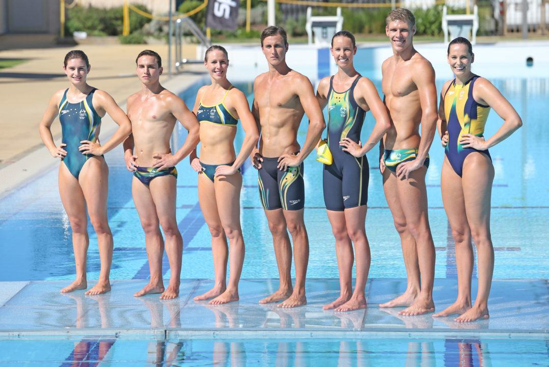 Aussies Reveal Olympic Togs as Well as a New Deal with Speedo