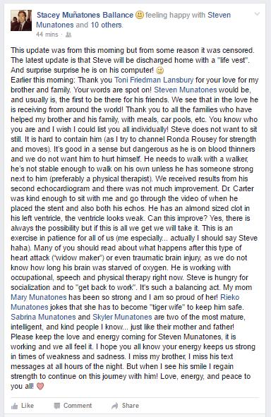 Steven Munatones 5-21 update