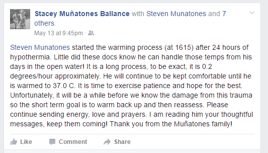 Steven Munatones Update 3