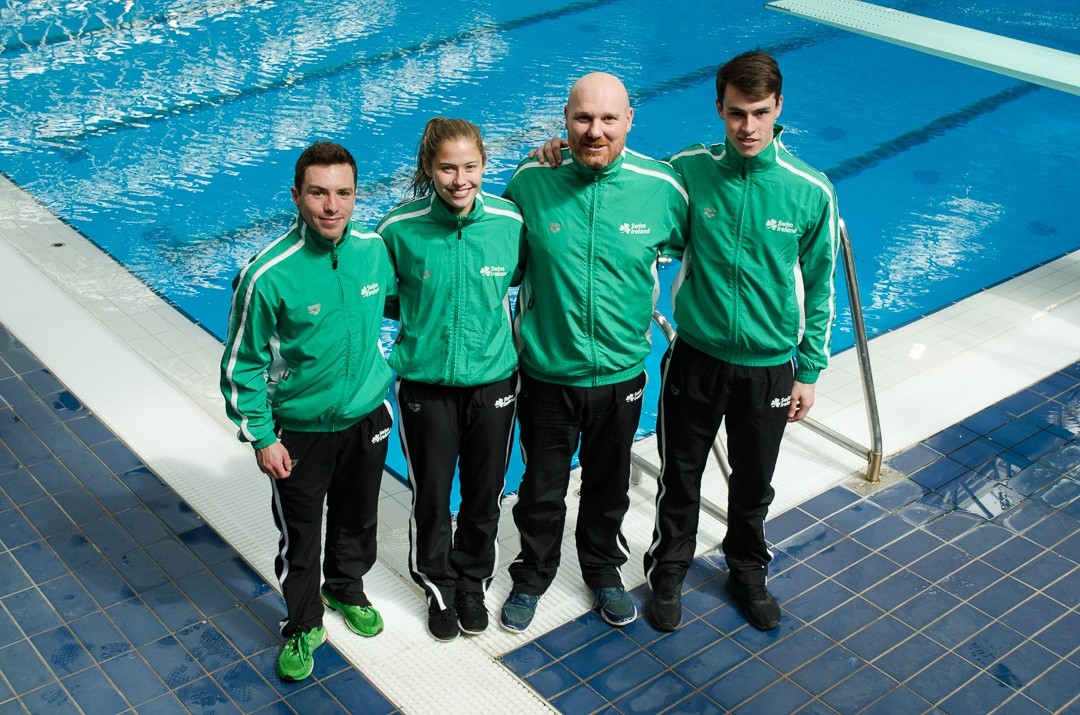 Ireland to Send 12 Swimmers, First Divers in 20 Years, to Europeans