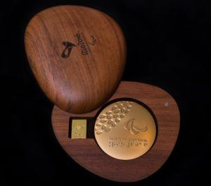 Paralympic Gold Medal Courtesy Rio 2016/Alex Ferro