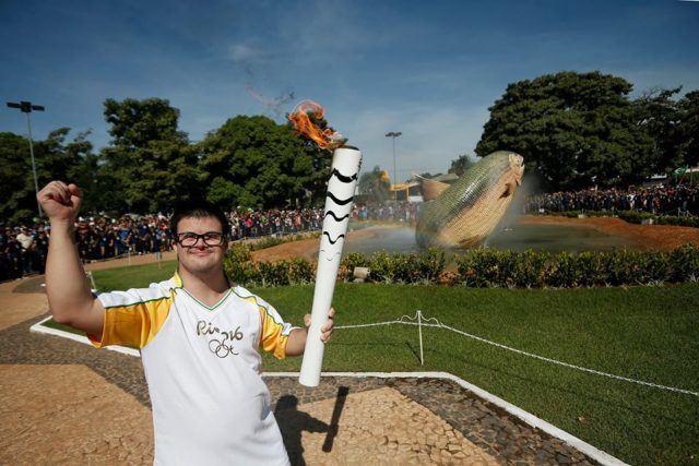 Rio Torch Relay Day 54 Campo Grande Mato Grosso Do Sul
