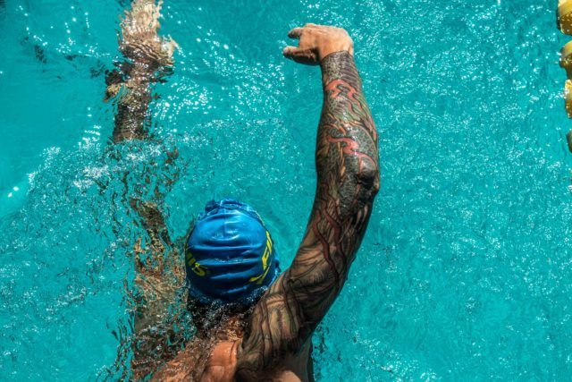 Anthony Ervin (photo: Mike Lewis)