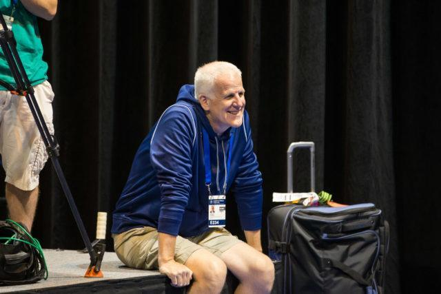 Bruce Gemmell  - 2016 US Olympic Trials venue,  courtesy of Tim Binning, theswimpictures.com