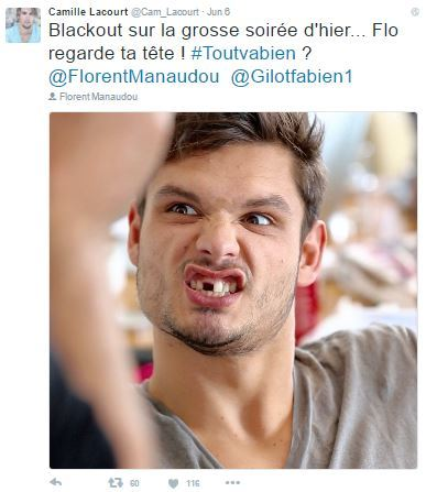 Camille Lacourt Twitter