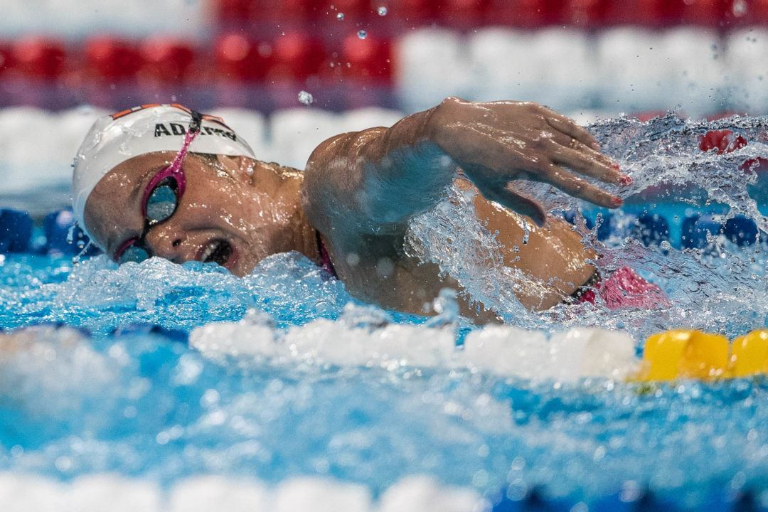 Meet the 2016 USA Olympic Swimming Team: Cammile Adams