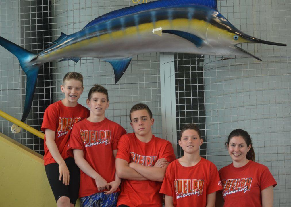 Guelph Marlin Boys Rewriting 11-12 Canadian Age Group Relay Records
