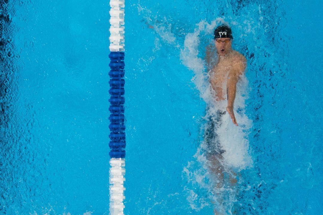 David Plummer Goes 5th Fastest Time Ever in 100 Back