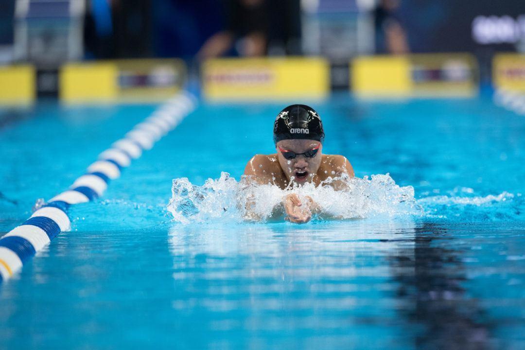 King Aquatic Club Boys Take Down 13-14 NAG in 200 Medley Relay