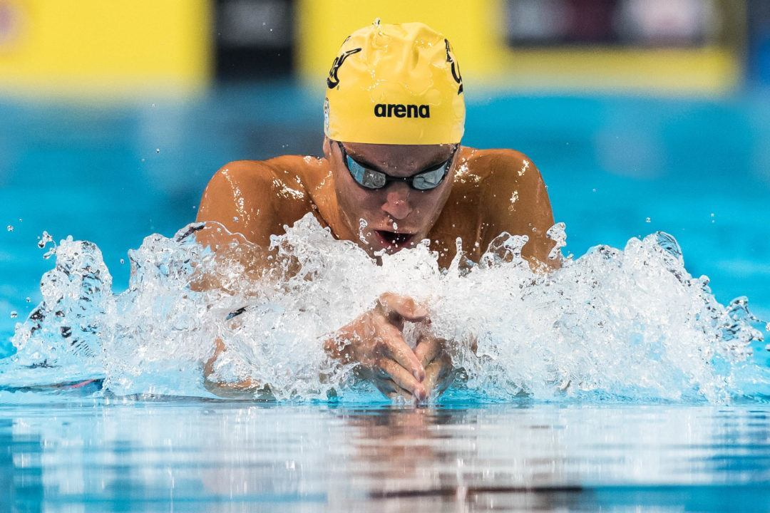 2016 Rio Olympics Preview: New Blood Targeting Men's 200 Breast WR
