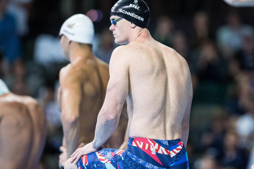 Josh Schneider Wins Swim-Off to Get Through to Men's 50 Free Final