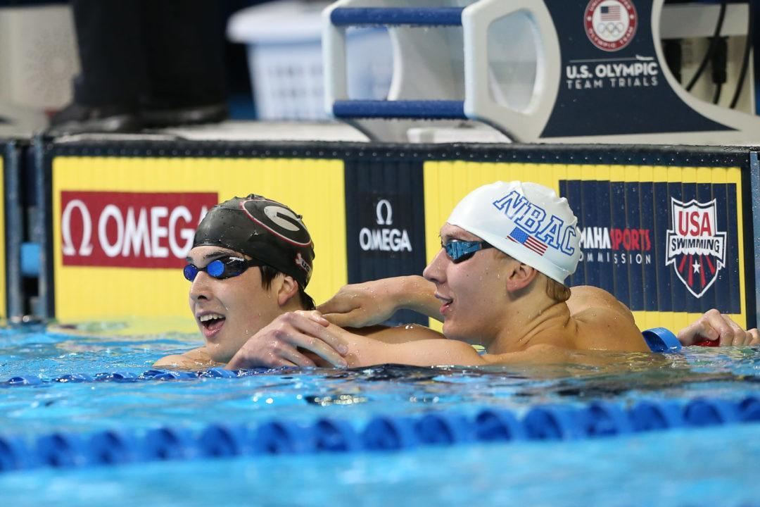 2016 Olympic Trials Time Prediction Contest: Night 1 Results