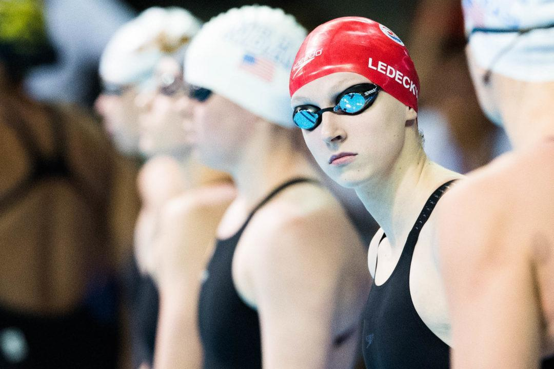 Katie Ledecky Wins U.S. Olympic Committee Female Athlete of the Year