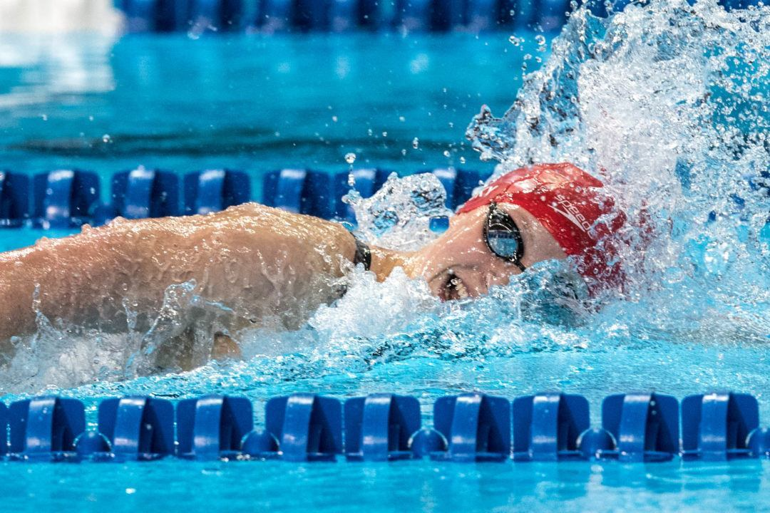 Stanford 800 Free Relay Breaks NCAA Record With Ledecky Anchor
