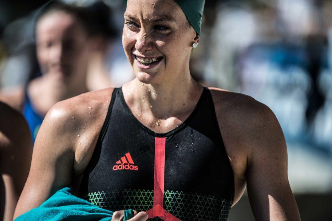 Aussie Madi Wilson Enters Budapest With New Freestyle Fuel