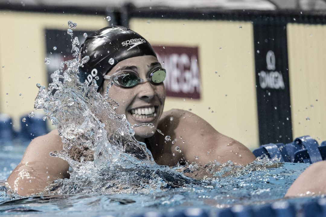 Maya DiRado Becomes 5th-Fastest American Female 200 Backstroker in History