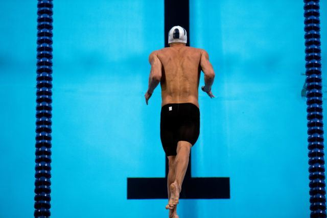 Michael Phelps by Mike Lewis