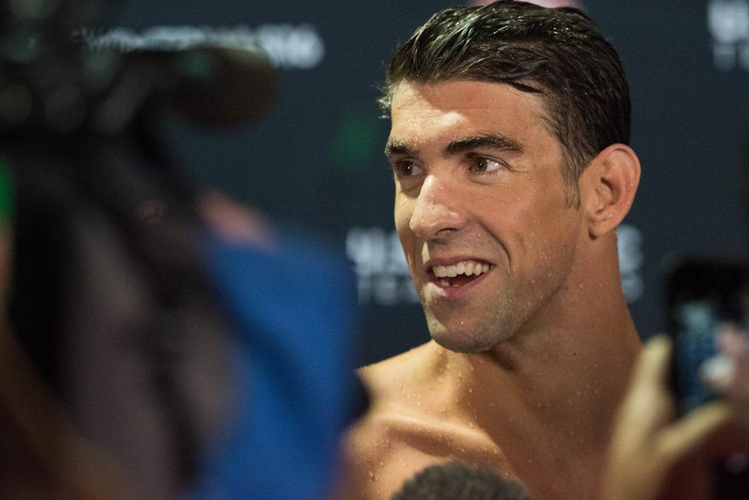 Beyond The Lane Lines: Michael Phelps Ranked #1 Outside The Water