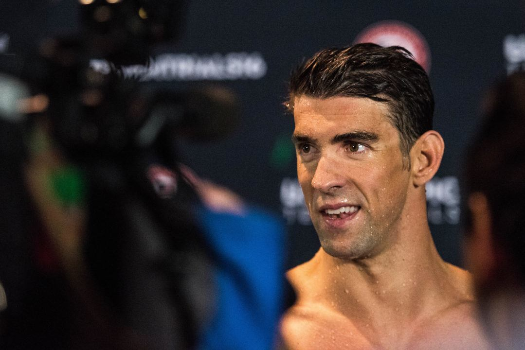 Michael Phelps Makes Fifth Olympic Team